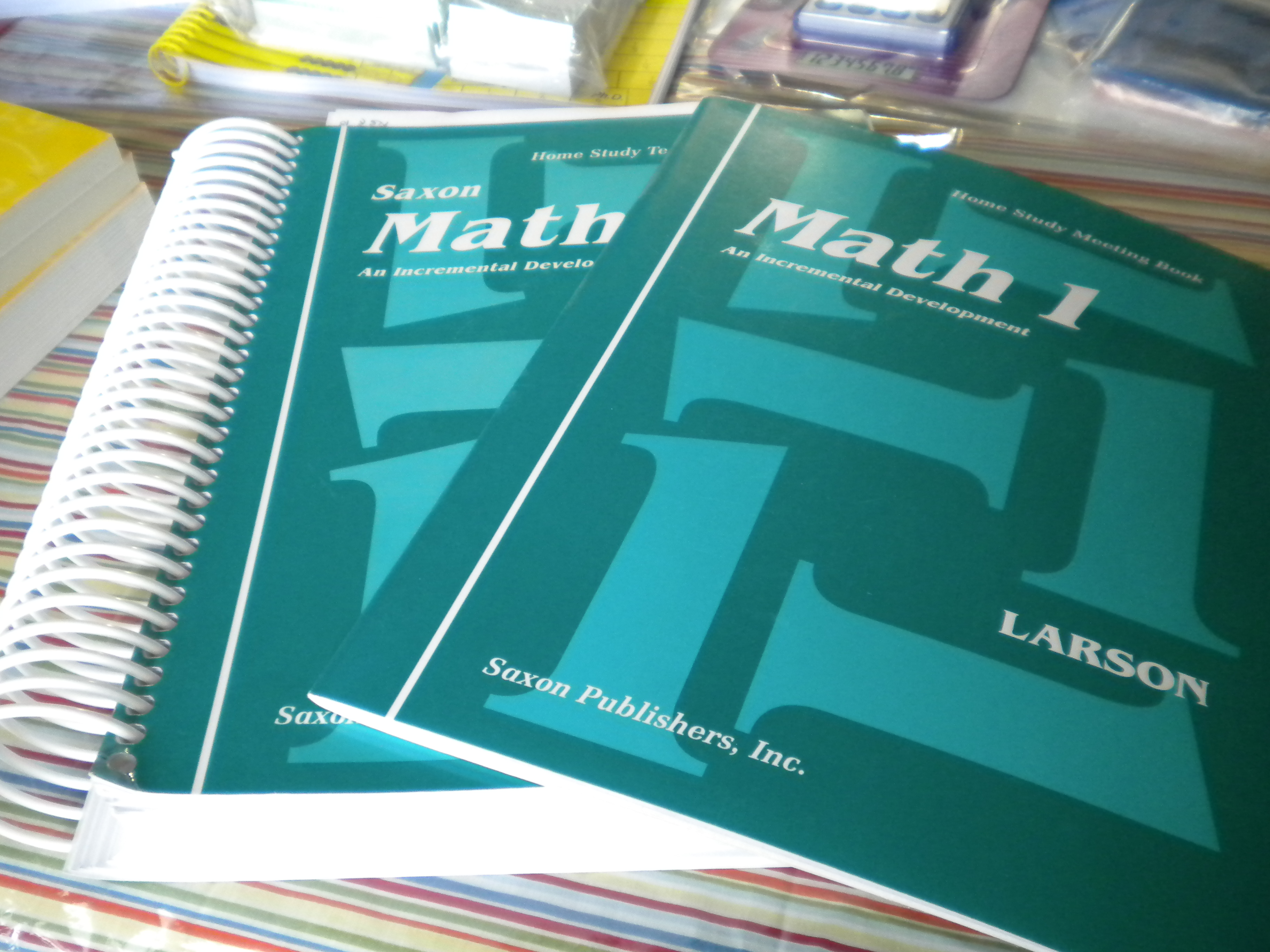 Curriculum for Sale 5/26/12 | My Soul Doth Delight…
