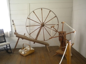 Spinning Wheel and Weasel