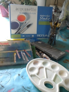 Creative Art Challenge #5 Supplies