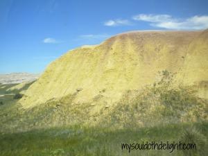 Badlands Colorful Rocks