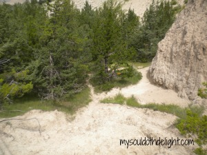 Badlands Hiking Trail