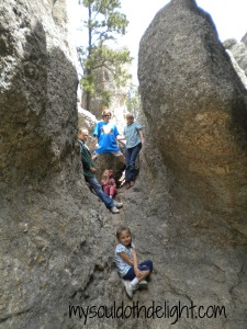 Custer State Park Rock Climbing