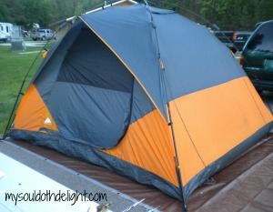 Custer State Park Tent