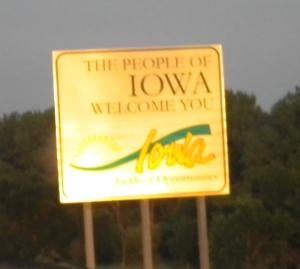 Welcome to Iowa