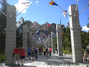 Mount Rushmore Entrance