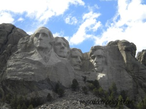 Mount Rushmore from the Trail