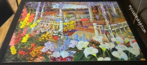 Flowers and Gazebo Puzzle