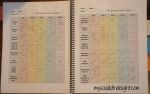 Planner Student Pages