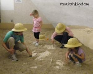 Sternburg Museum Digging Fossils
