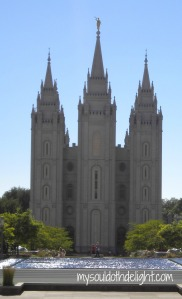 Temple Sqaure - Salt Lake Temple