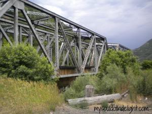 Weber Canyon Train Trestle Bridge