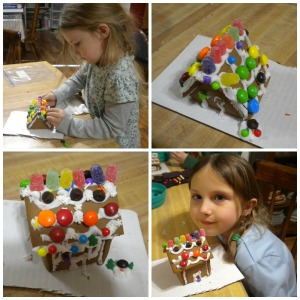 Gingerbread Collage - Little Girl's