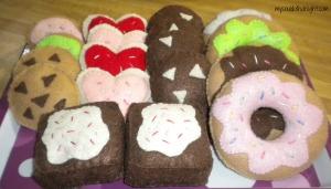 Felt Cookies & Doughnuts