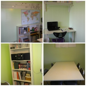 School Room Collage
