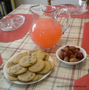 Poetry Tea Time Refreshments 1