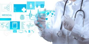 18237552-medicine-doctor-working-with-modern-computer-interface-stock-photo